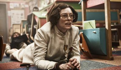 """Tilda Swinton w filmie """"Snowpiercer: Arka przyszłości"""""""