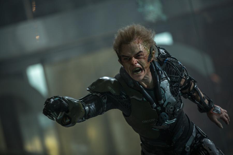 "Dane DeHaan w filmie ""Niesamowity Spider-Man 2"""