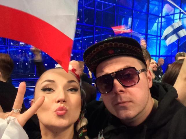 Donatan i Cleo na Eurowizji / zdjęcie z oficjalnego profilu Donatana