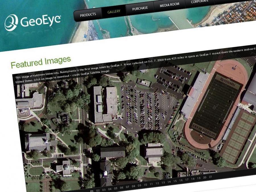 Google szpieguje z własnego satelity