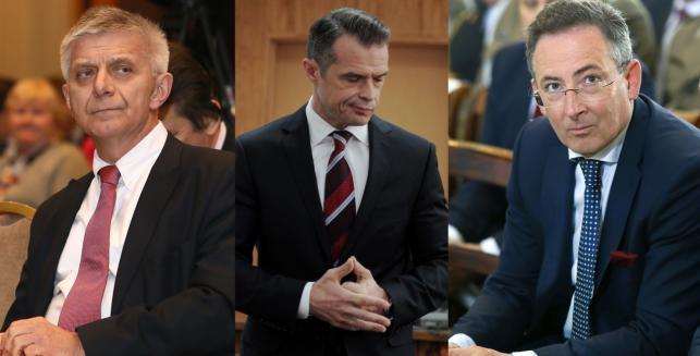 Marek Belka, Sławomir Nowak, Bartłomiej Sienkiewicz