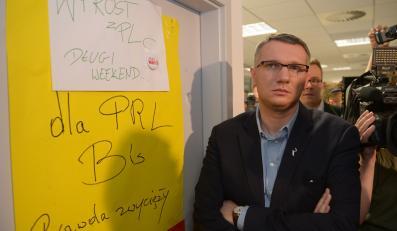"""Przemysław Wipler w redakcji """"Wprost"""""""