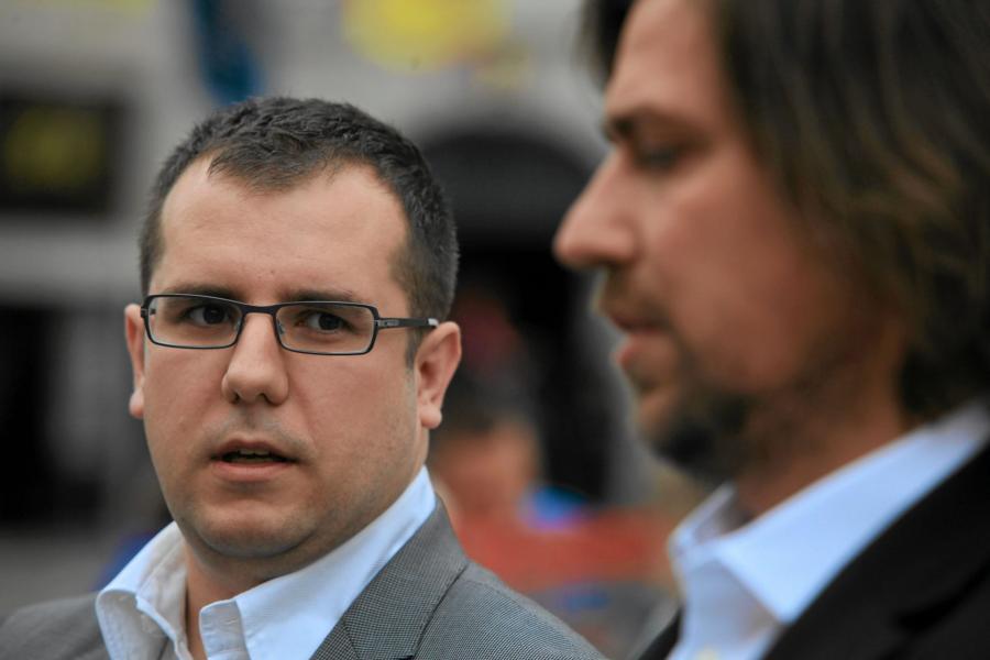 Przemysław Czarnecki i Tomasz Kaczmarek