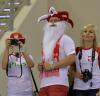 Kamil Stoch zabrał żonę na mecz polskich siatkarzy w Lidze Światowej