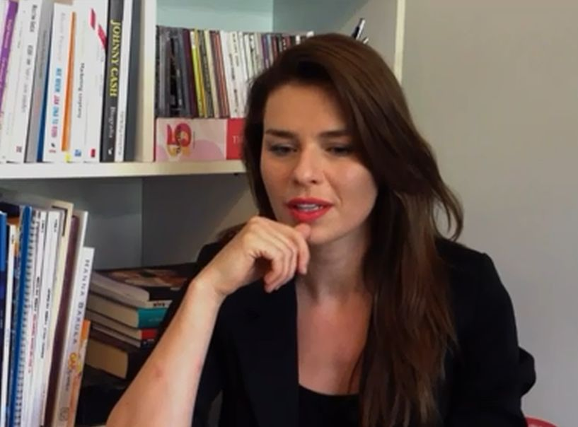 Natasza Urbańska w programie \