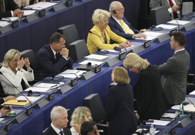 Inauguracyjna sesja Parlamentu Europejskiego
