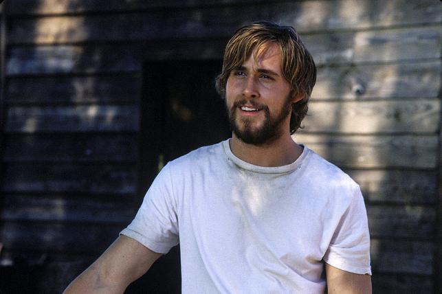 """Ryan Gosling w filmie """"Pamiętnik"""""""