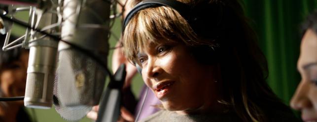 Tina Turner podczas pracy nad ostatnią płytą pod szyldem Beyond