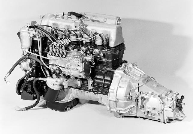 Silnik mercedes 240D 3.0