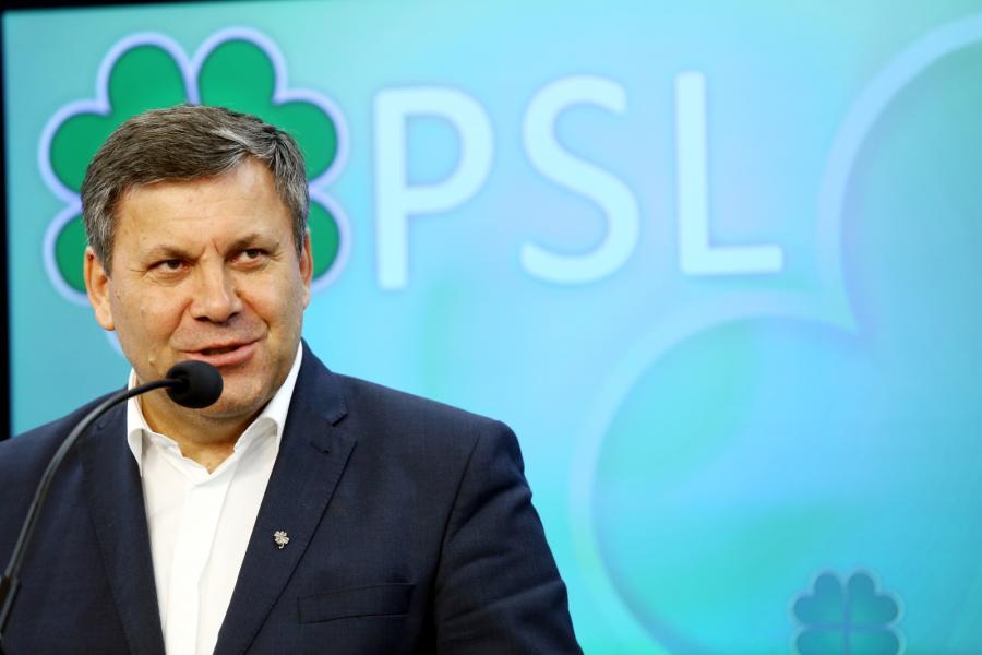 Prezes PSL, wicepremier i minister gospodarki Janusz Piechociński