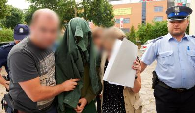 Sprawca rajdu na Monciaku prowadzony do prokuratury