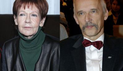 Maria Czubaszek, Janusz Korwin-Mikke
