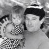 Robin Williams z córeczką Zeldą