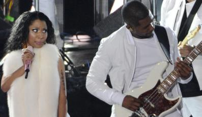 Usher i Nicki Minaj na scenie MTV Video Music Awards 2014