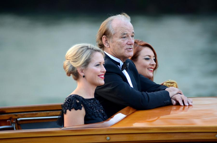 Bill Murray na ślubie George'a Clooneya