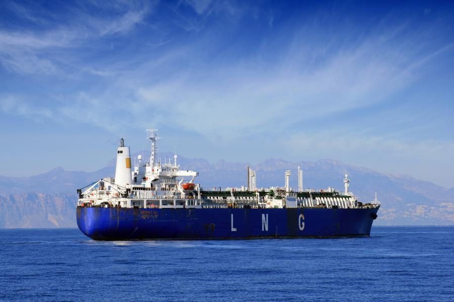 Transport gazu LNG