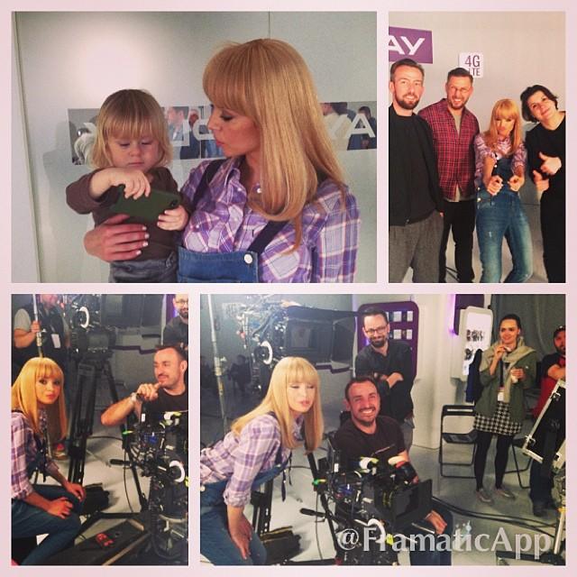 Anna Przybylska na zdjęciach ze swojego profilu na Instagramie