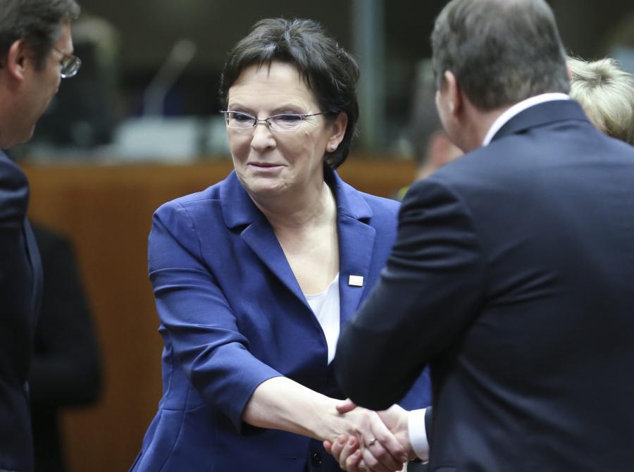 Ewa Kopacz na szczycie klimatycznym