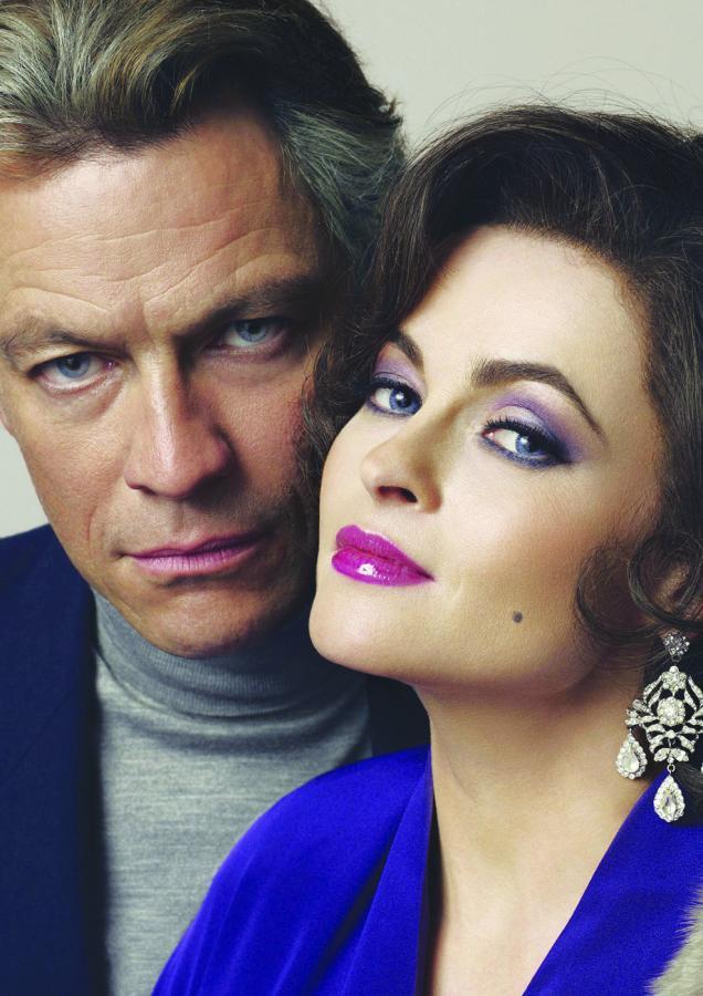 "Dominic West i Helena Bonham-Carter w filmie ""Burton i Taylor"""