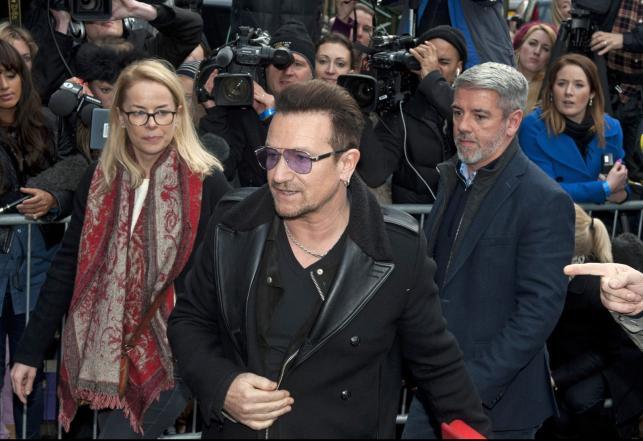 """Bono w drodze na nagranie """"Do They Know It's Christmas?"""""""