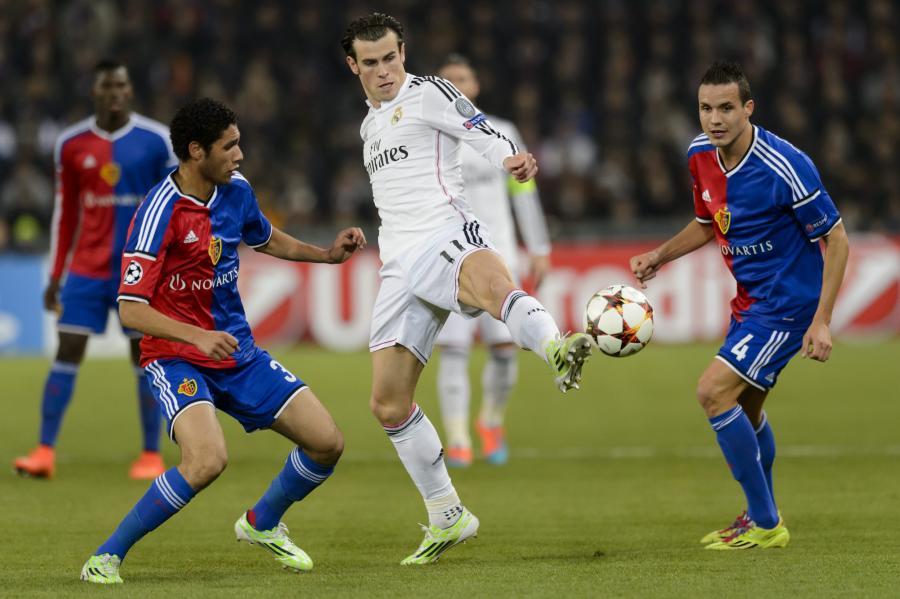 Gareth Bale (w białym stroju)