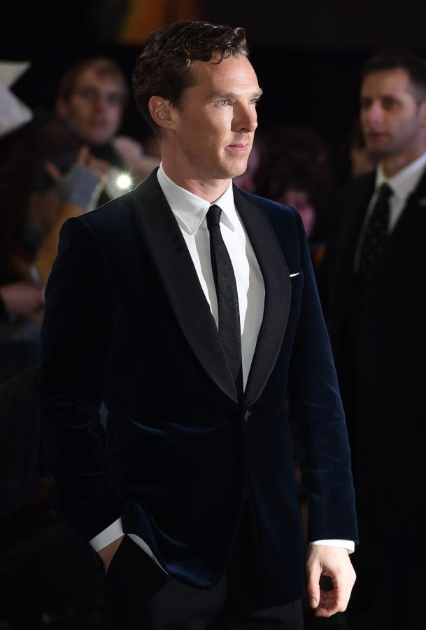 Benedict Cumberbatch na premierze w Londynie