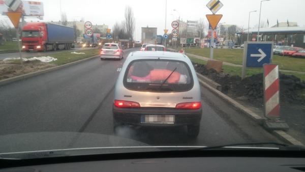 Kobieta straciła prawo jazdy