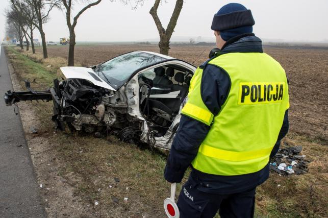 Wypadek w okolicach Brzegu