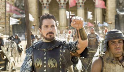 """Christian Bale w filmie """"Exodus: Bogowie i królowie"""""""