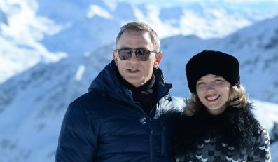 """Gwiazdy """"Spectre"""": Daniel Craig i Léa Seydoux"""