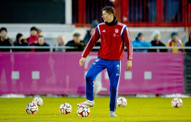 Robert Lewandowski i jego Bayern szlifują formę przed drugą częścią sezonu