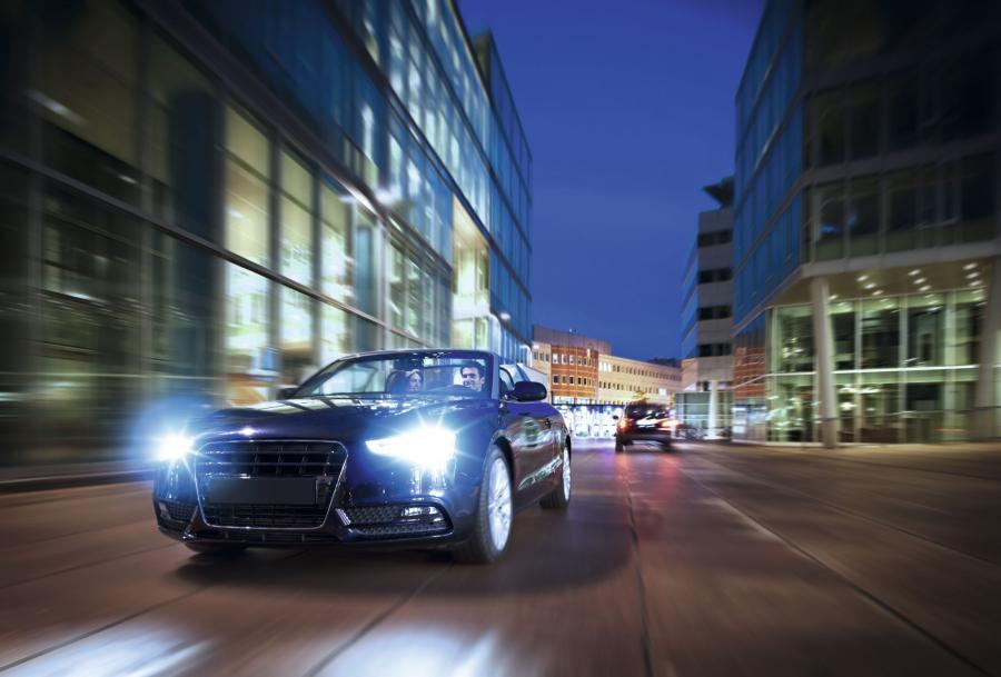 Samochód na światłach