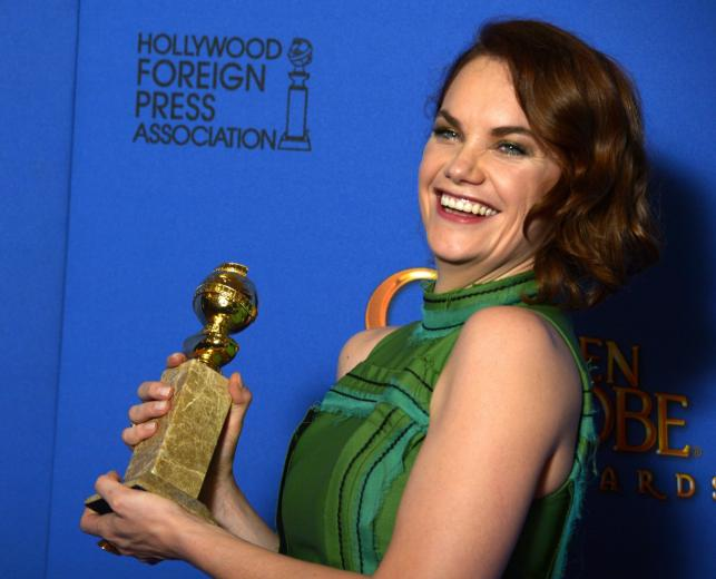 """Najlepsza aktorka w serialu dramatycznym:<br>Ruth Willson – """"The Affair"""""""