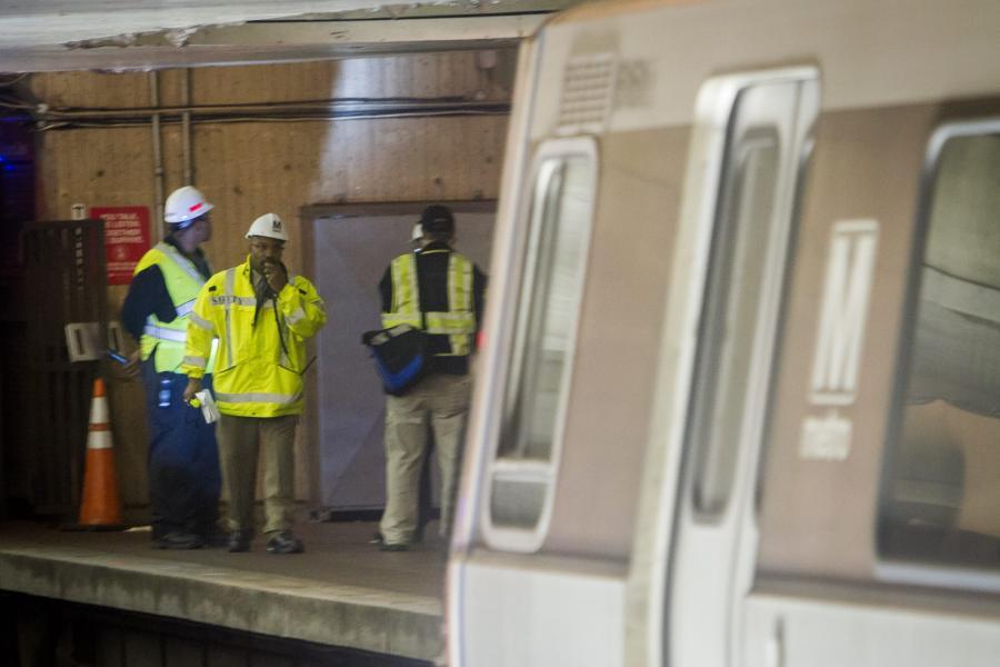 Awaria metra w Waszyngtonie