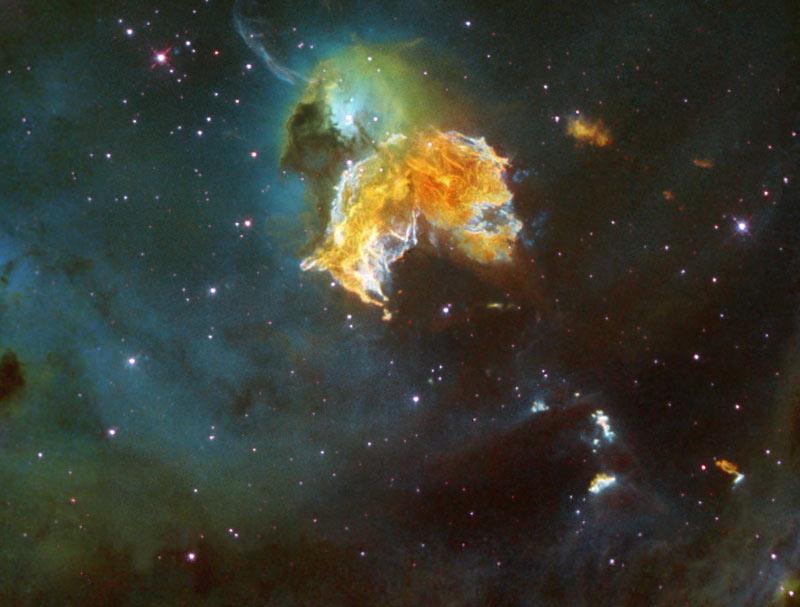 Tak naprawdę supernowa to moment śmierci gwiazdy