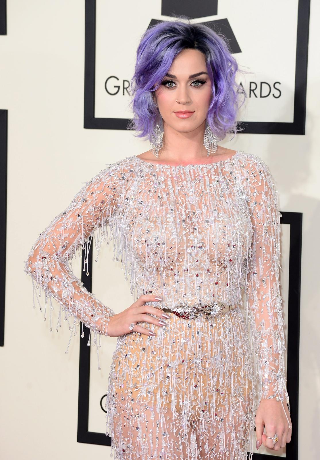 Najbardziej rozebrane gwiazdy na gali Grammy 2015: Katy Perry