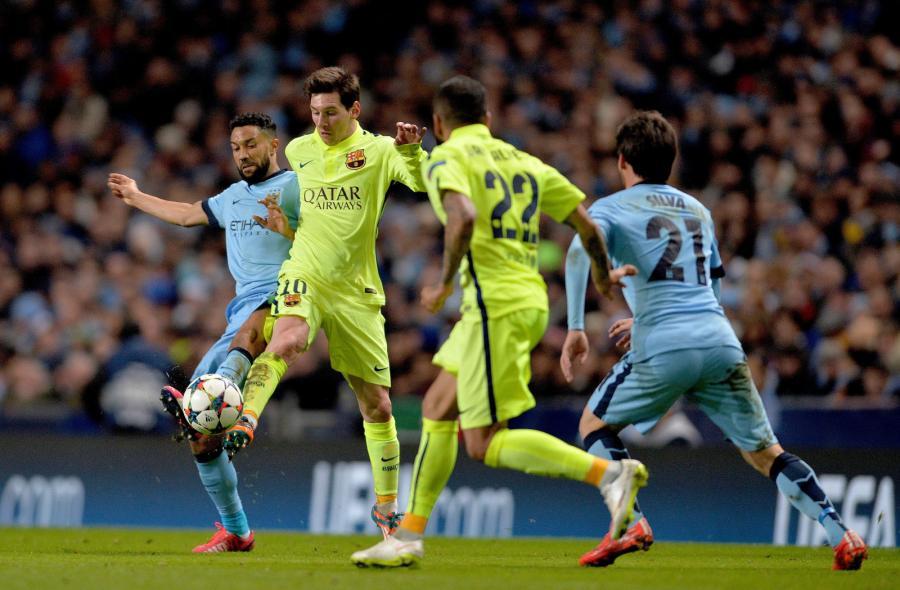 Mecz FC Barcelona - Manchester City