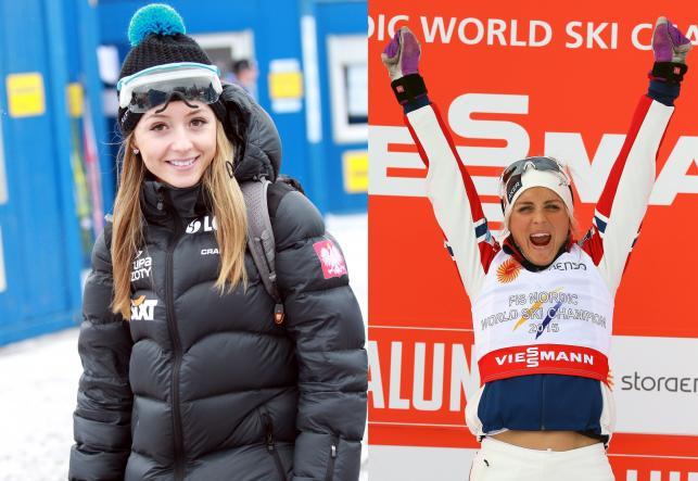 Johaug najseksowniejszą narciarką? Gdzie tam! Do Kozielskiej jej sporo brakuje