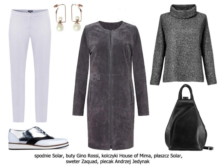 Ubrania minimalistyczne w stylu retro