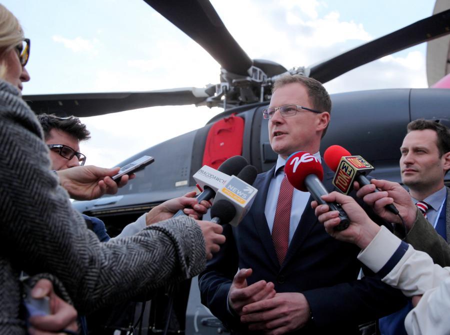 Prezes PZL-Świdnik Krzysztof Krystowski