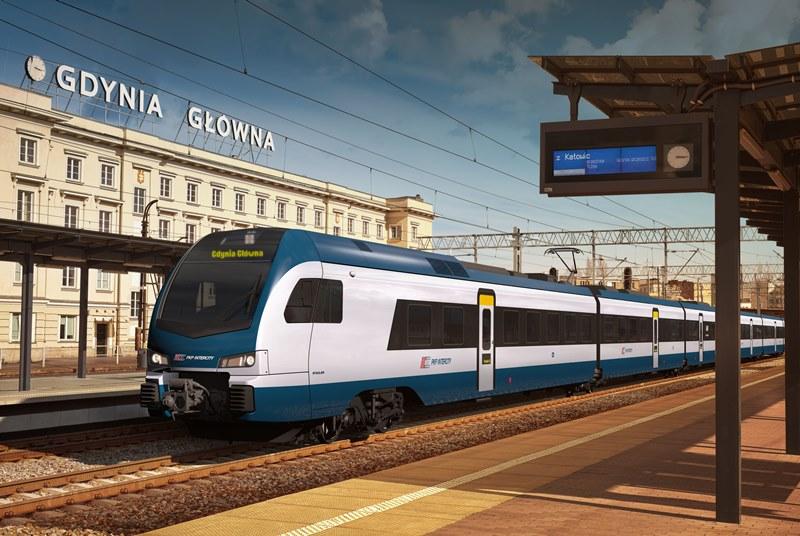 Flirt3 Stadlera i Newagu dla PKP Intercity