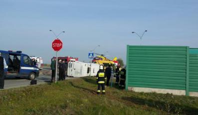 PELPLIN - wypadek busa