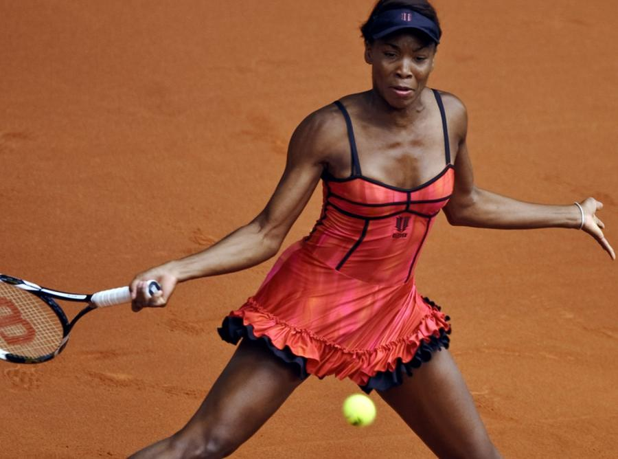 Venus Williams - kameleon na korcie