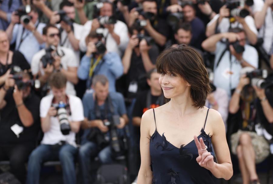 Sophie Marceau na festiwalu w Cannes