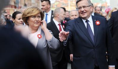 Anna Komorowska i Bronisław Komorowski