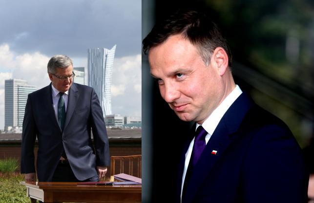 Andrzej Duda i Bronisław Komorowski