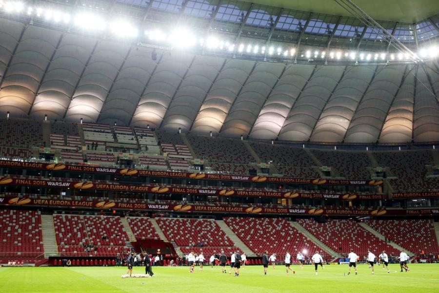 Piłkarze Sevilli trenują na Stadionie Narodowym