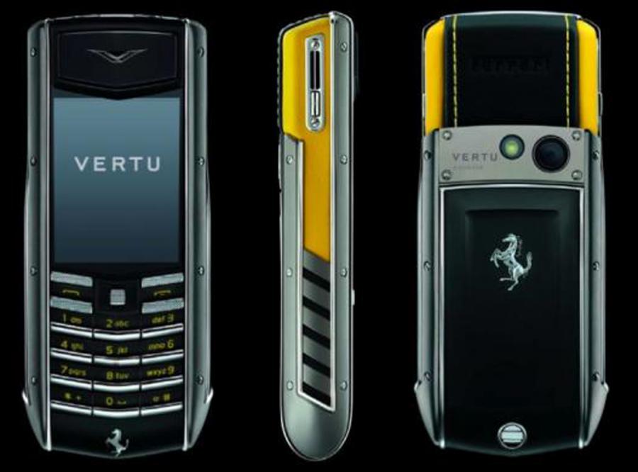 Fura, skóra i... telefon dla miłośników Ferrari