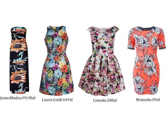3d8dd408cc Letnie sukienki w 7 modnych stylach. PRZEGLĄD - Zdjęcie 1 - Galeria ...