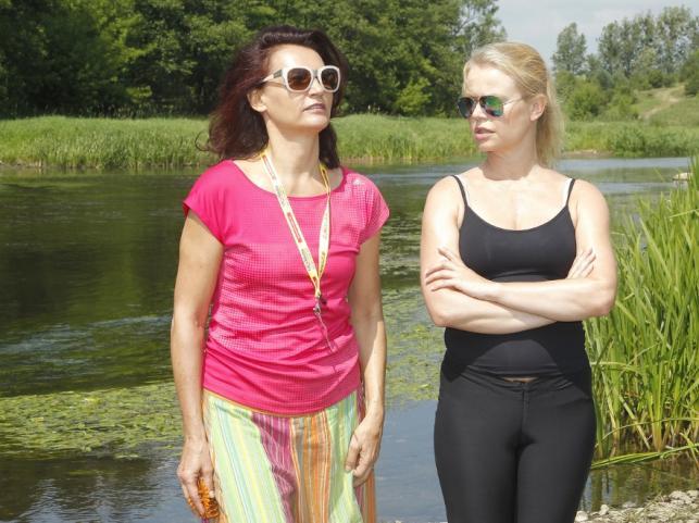 Małgorzata Pieczyńska i Magdalena Wójcik